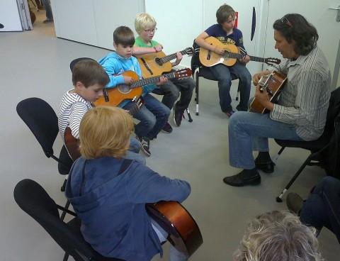 groepsles gitaar