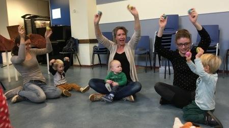 Bedwelming Muziek met Peuters - De Gooische Muziekschool &JS13
